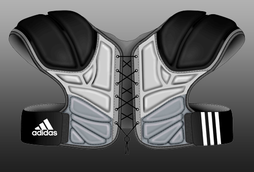 Adidas Lacross Shoulder Pads