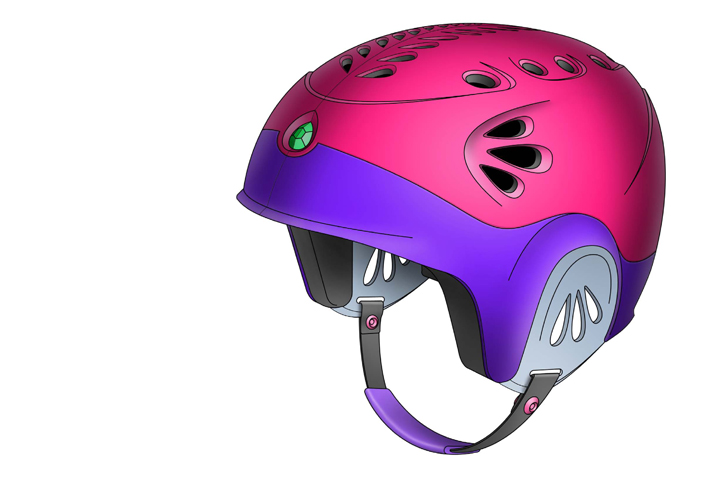 Figure Skating Helmet Concepts