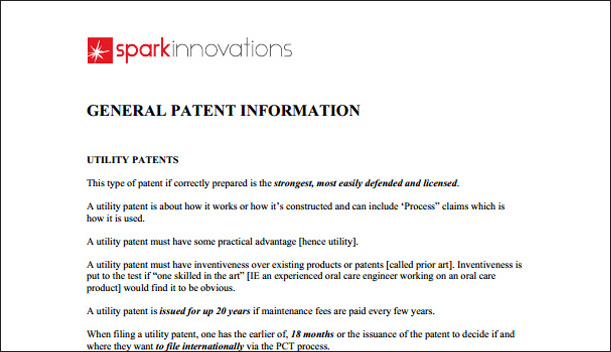 Patent Strategies Half