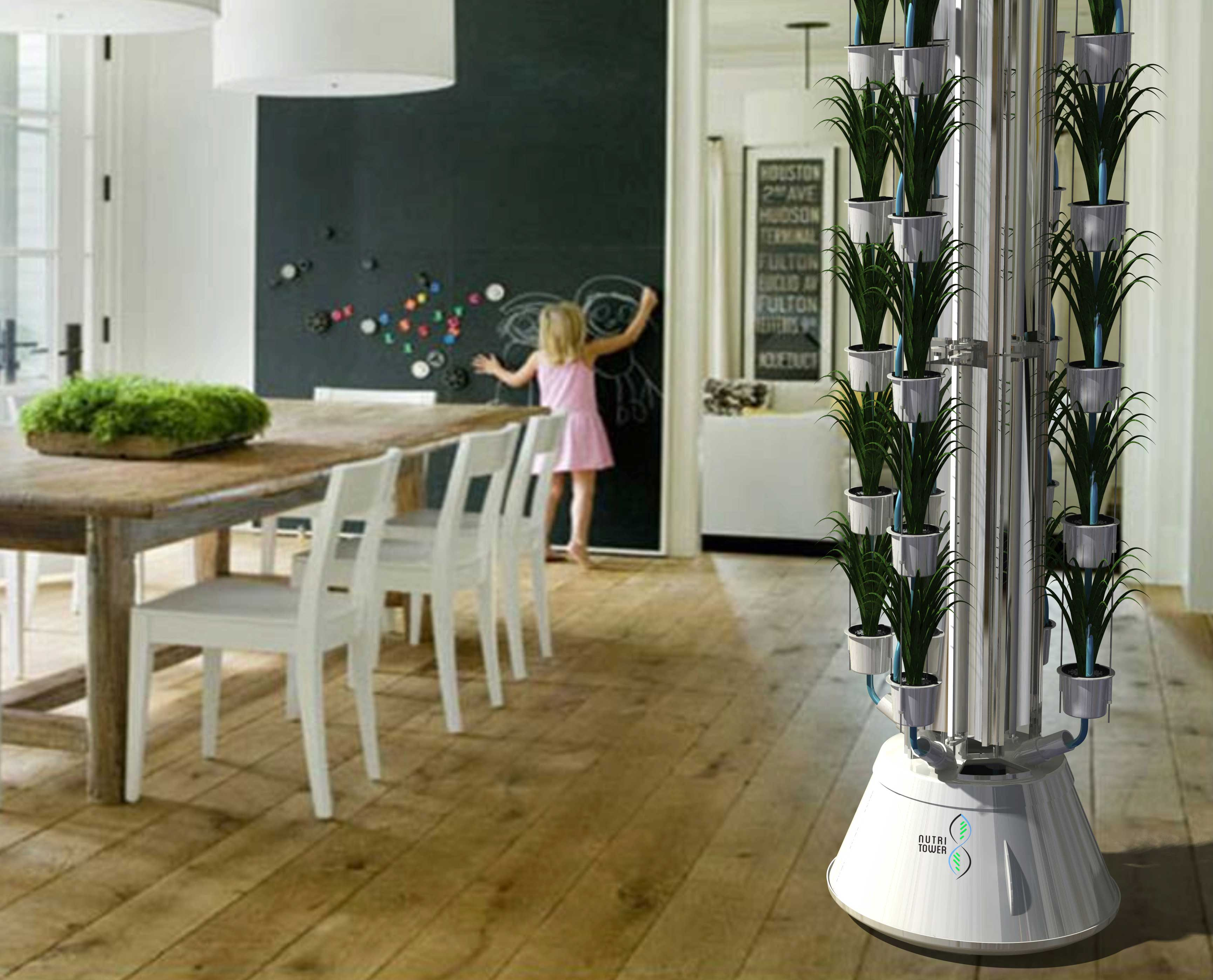 Nutri-Tower,Indoor gardening, gardening system, easy