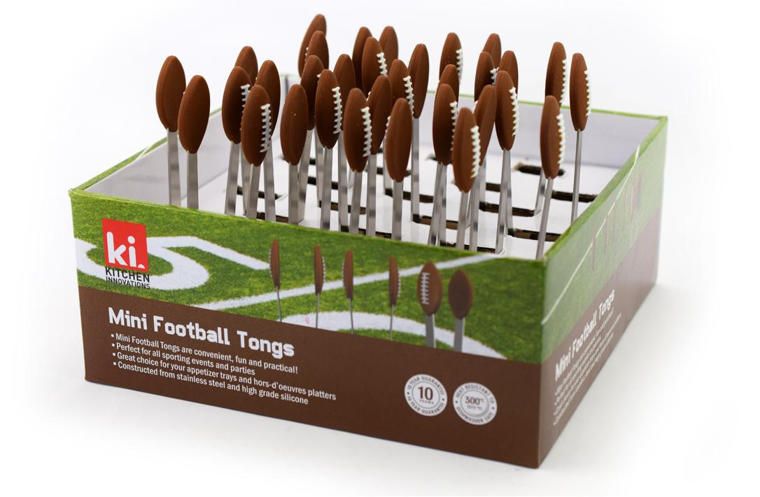Kitchen cadgets FootBall Mini Tongs