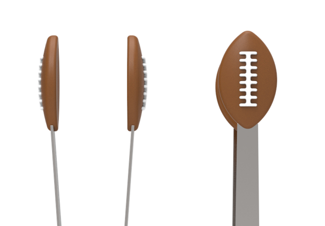 Football Mini Tongs
