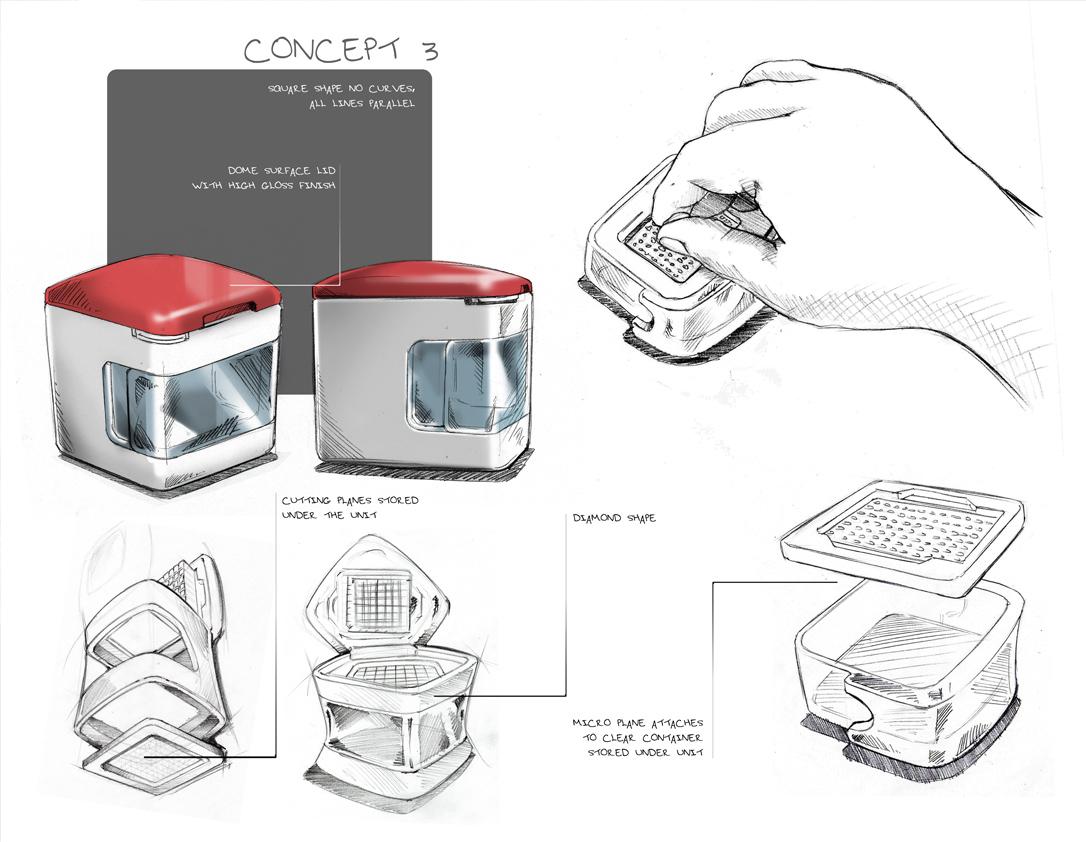 Garlic Press 5- Kitchen tools- Kitchen innovations