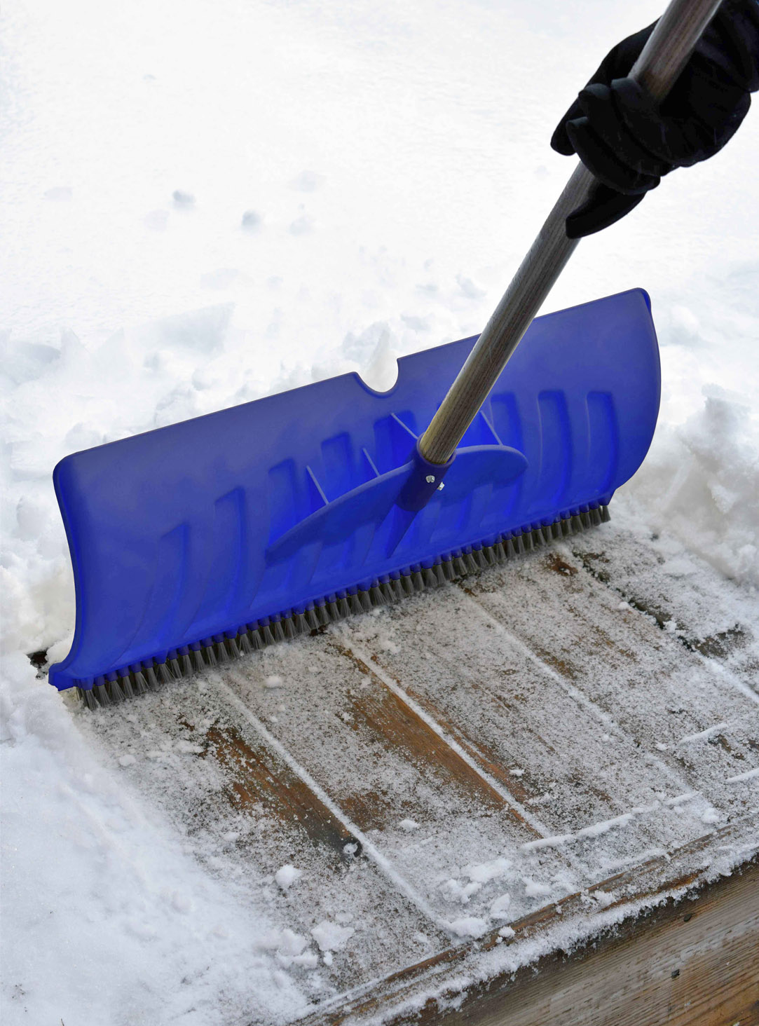 Snow Shovel cleaning the surface