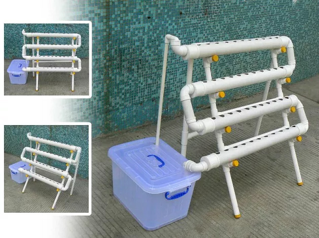 Zigiag Hydroponic Design