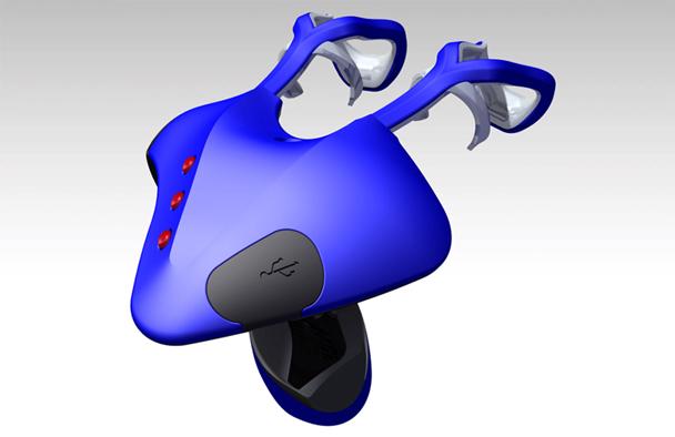 Airmouse Wearable technology design CAD