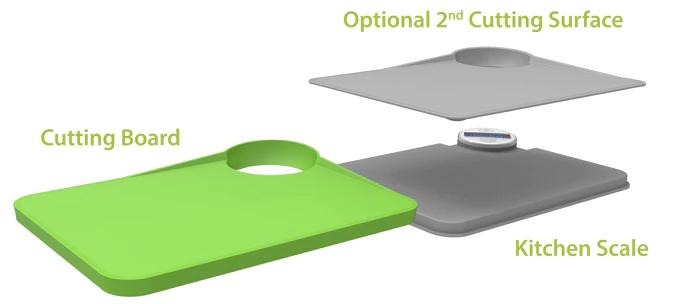 Kickstarters kitchen scale & cutting board | kickstarters campaign