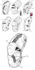 Adidas, Elbow Guard, Designs, Concepts, ID