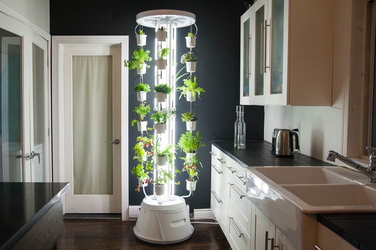 Indoor, Gardening, Nutri-tower, hydroponic tower