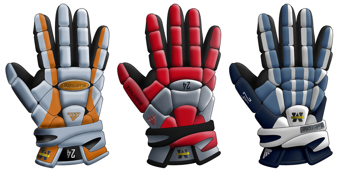 Adidas Gloves Renderings | Spark Innovations