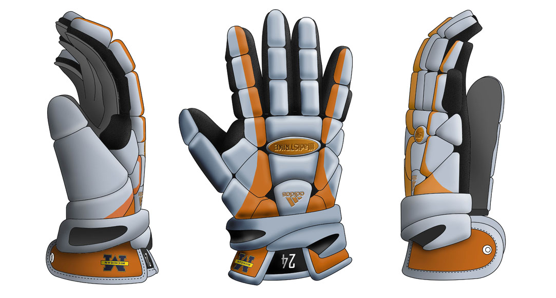 Adidas 311 gloves product design
