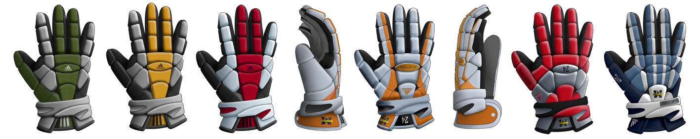 Adidas 311 gloves rendering proposals | Spark Innovations