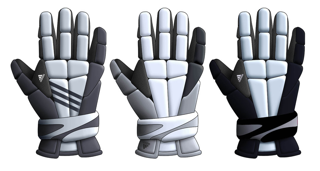 Adidas 411 Gloves | Lacrosse Protection