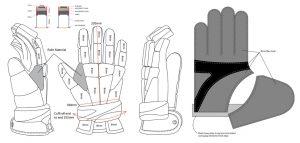 Adidas 411-glove pattern