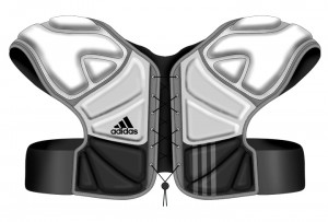 Shoulder Liner, Adidas, concept, rendering, lacrosse gear