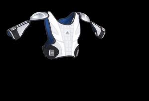 Adidas, Shoulder pads, concept, product design, product development