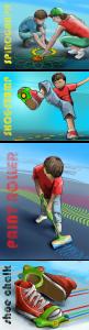 Crayola, initial concepts, renderings