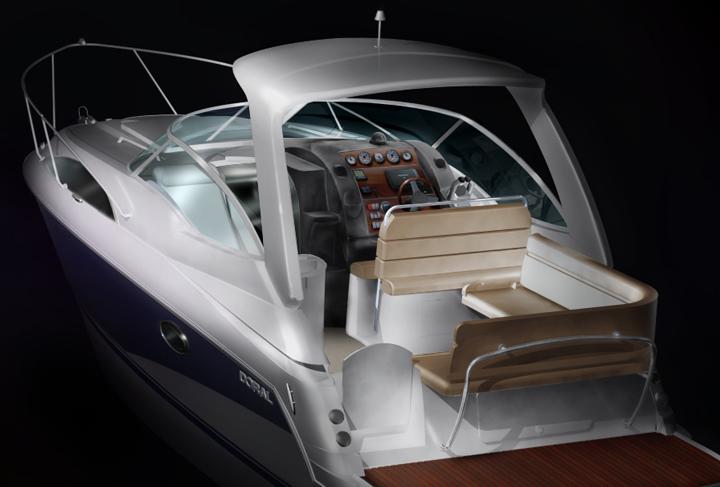 Doral Boat Render