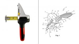 Patents. DryWall Axe, product Design