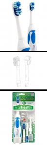 Dual Zone, tooth brush, power brush
