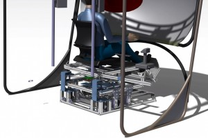 Mechanical Engineering, motion seat, redering