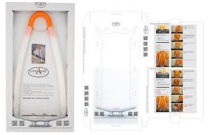 packaging, Mooring Aid, dielines, product design,