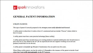 Patent, General Information, patent info