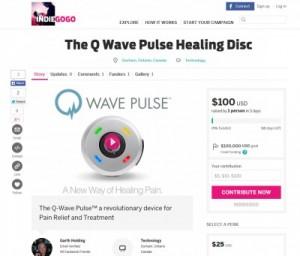 Q wave Pulse on indiegogo