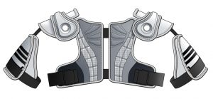 Adidas Shoulder Pad designs