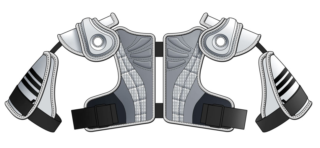 Adidas Shoulder Pad designs