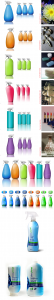 concepts, design, renderings, eco, ecofriendly, Spray Bottles, blue planet