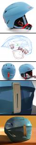 Scotts V12, helmet designm helmet engineering, Helmet product development