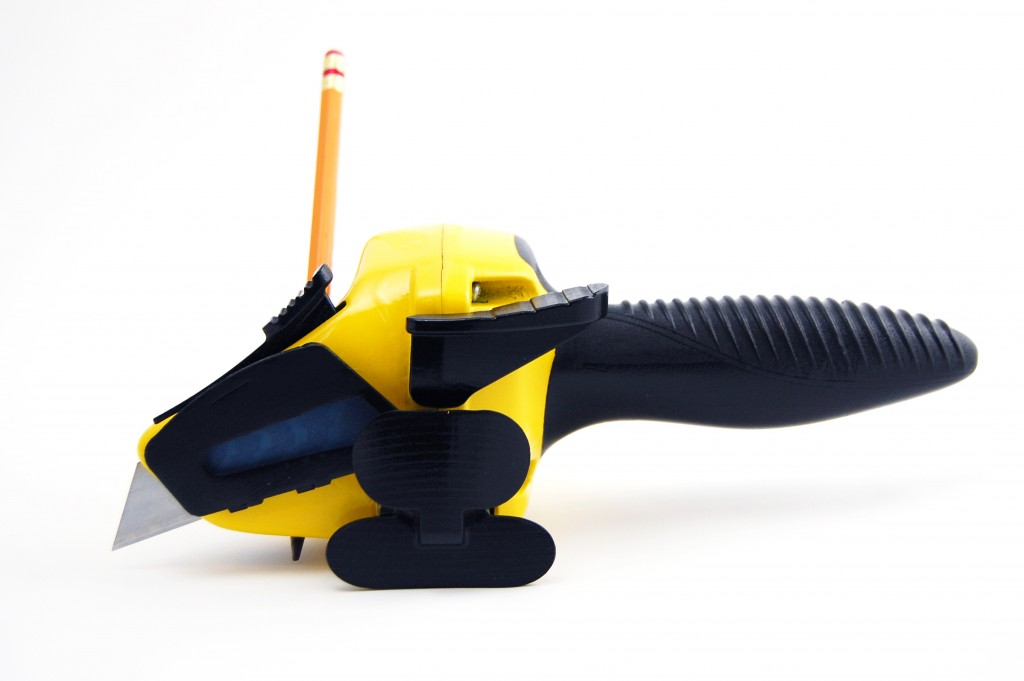 Yellow-Drywall-axe-prototype-from-spark