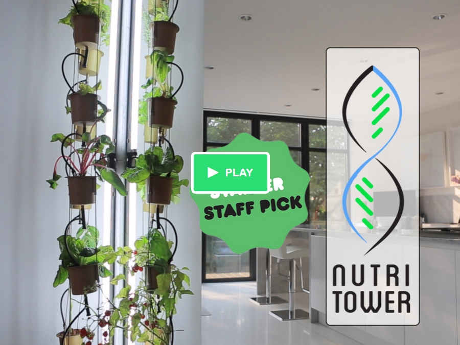 The NutriTower – Indoor Gardening Made Easy!