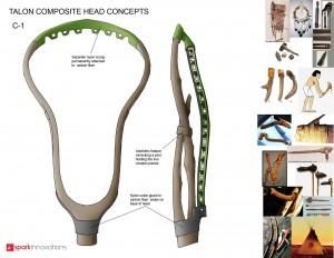 Talon, Lacrosse, Lacrosse Head, Head Design