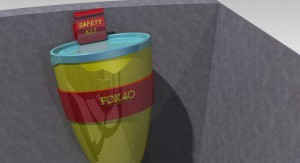 Fox 40, concepts, Canister Bracket, renderings