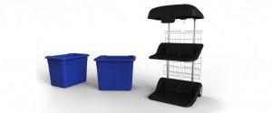 recycle bin, bin design, eco friendly bin