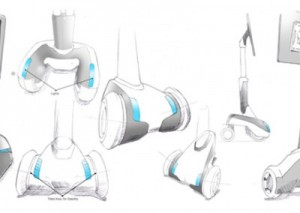 Robot, Virtual presence robot, concept drawings, sketches, drawings, product design, ideas