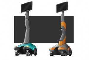 Robot, Virtual presence robot, renderings, drawings, sketches, product design, ideas