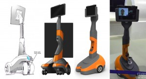 Robot, Virtual presence robot, product design