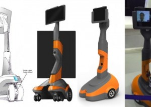 Robot, Virtual presence robot, product design