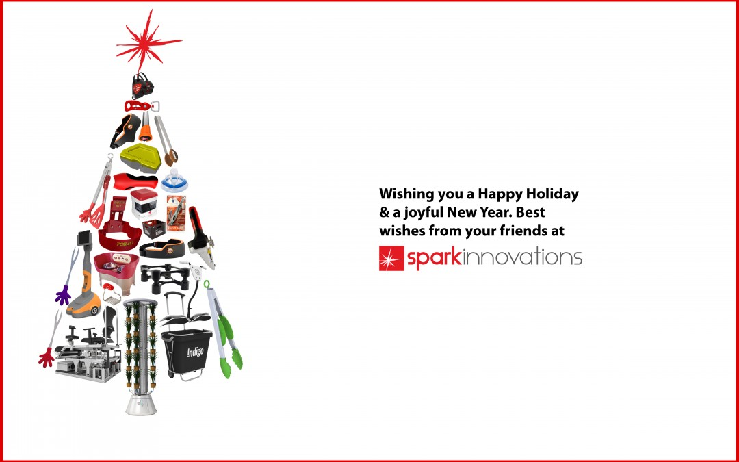 Wishing you a Happy Holiday & a joyful New Year | Spark Innovations