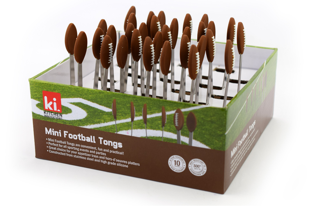 Kitchen cadgets FootBall Mini Tongs