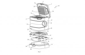 Garlic-Press Patent drawings