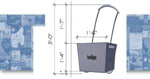 Indigo, Shopping cart, product design, initial concept, inspiration