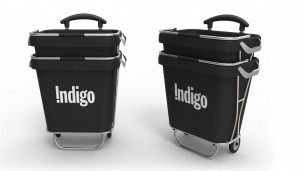 Indigo cart design, industrial design, product development, rendering