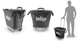 Indigo, Shopping cart, product design, final, concept