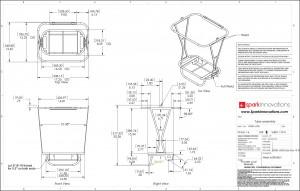 Indigo, shopping Cart, Design, product development, industrial design, mechanical engineering