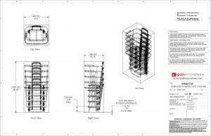 Indigo, shopping Cart, Design, product development, industrial design