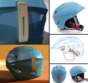 Helmet, Design, Surfacing, mechanical, Cad Models